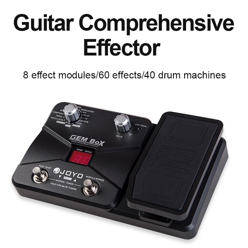Joyo Electric Guitar Musical Instrument Accessories Guitar Effects Pedal Multi Effects For Electric Guitar GEM BOX enlarge