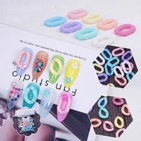 nail ring buckle jewelry frosted candy color ring buckle cartoon irregular color three dimensional circle cute nail decoration