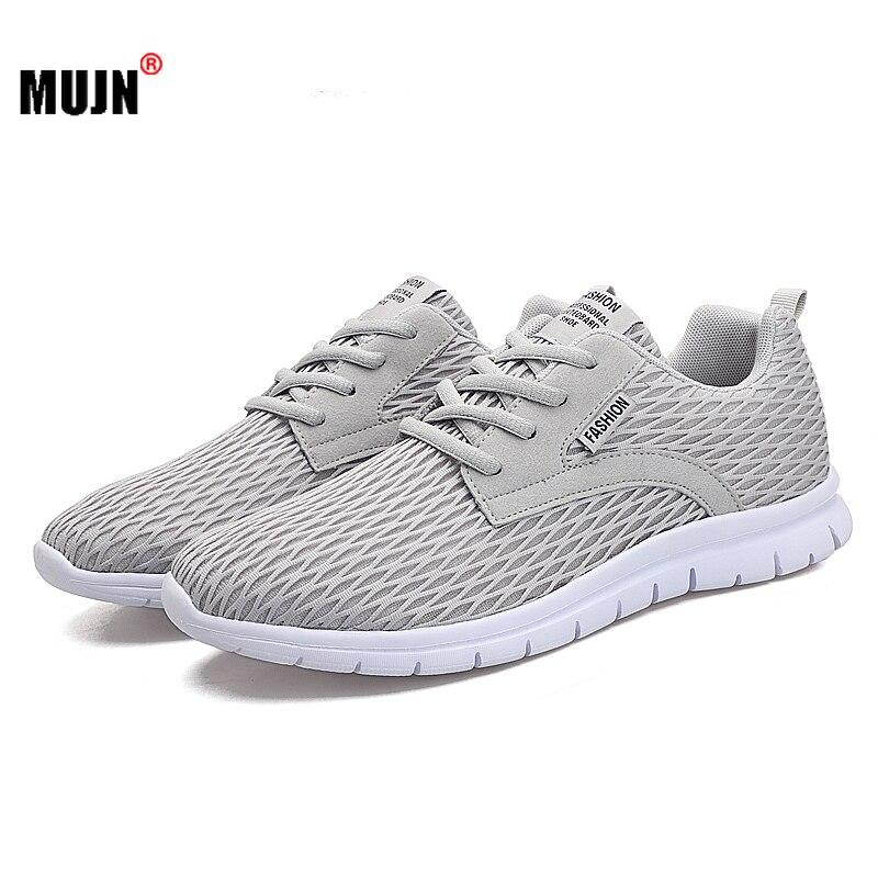 Zapatos informales de malla para Hombre, Calzado deportivo transpirable y cómodo para...