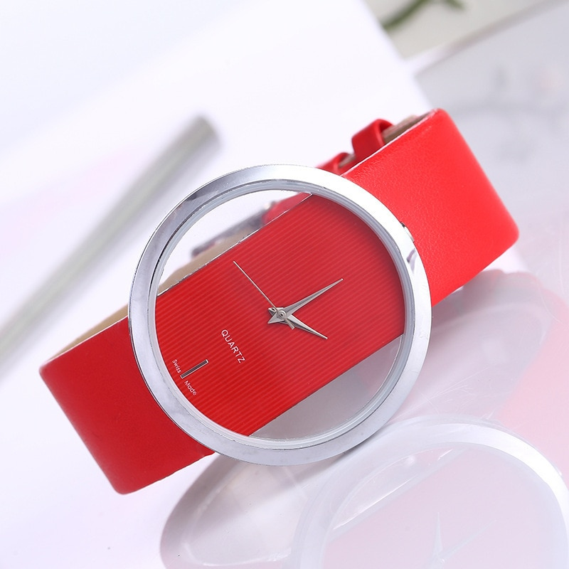 Luxury Fashion Lady watches Top Leather Quartz Watch for women Antique Stylish Round Dress Female cl