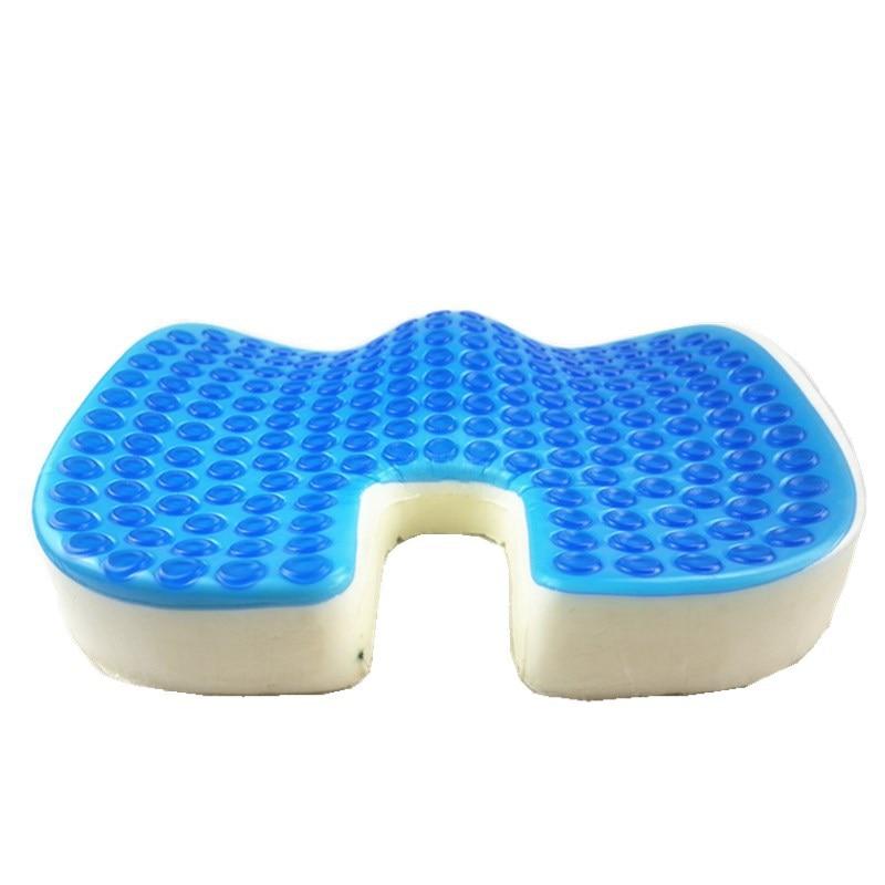 Mejor nueva protección térmica de verano cojín de asiento de Gel en forma de U Anti-Decubitus hemaroides cojín de asiento de silla de ruedas