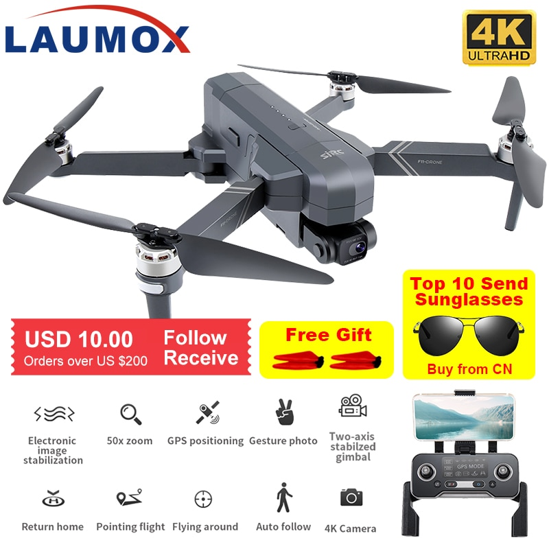 SJRC F11 4K PRO Drone GPS 5G WiFi 2 Axis Gimbal  With HD Camera FPV Professional RC Foldable Brushless Quadcopter SG906 PRO 2