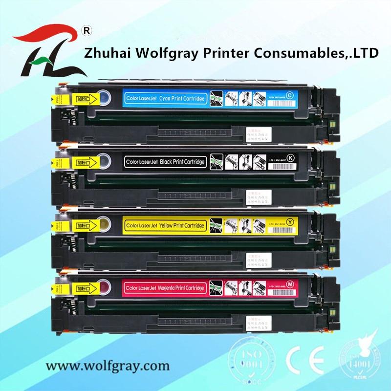 Цветной тонер-картридж CF400A CF401A 402 403A 201A для hp HP Color LaserJet Pro M252dn M252n MFP M277dw M277n M274n