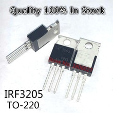 10PCS/LOT    IRF3205  IRF3205PBF 110A55V  TO-220  N-channel field effect tube inverter