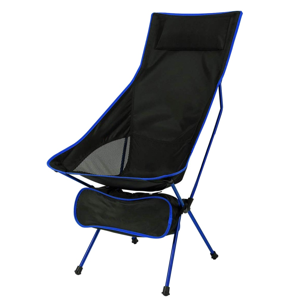HooRu Beach Camping Chair Backrest Folding Fishing Lounge Chair Lightweight Outdoor Portable Backpacking Deck Chairs for Travel travel chair lounge lizard model black