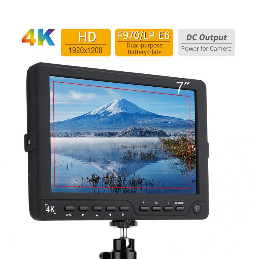 Bestview-شاشة 7 بوصة عالية الدقة 4K Full HD لجهاز Sony GH4 A7R Mark-II ، شاشة HDMI 1920X1200