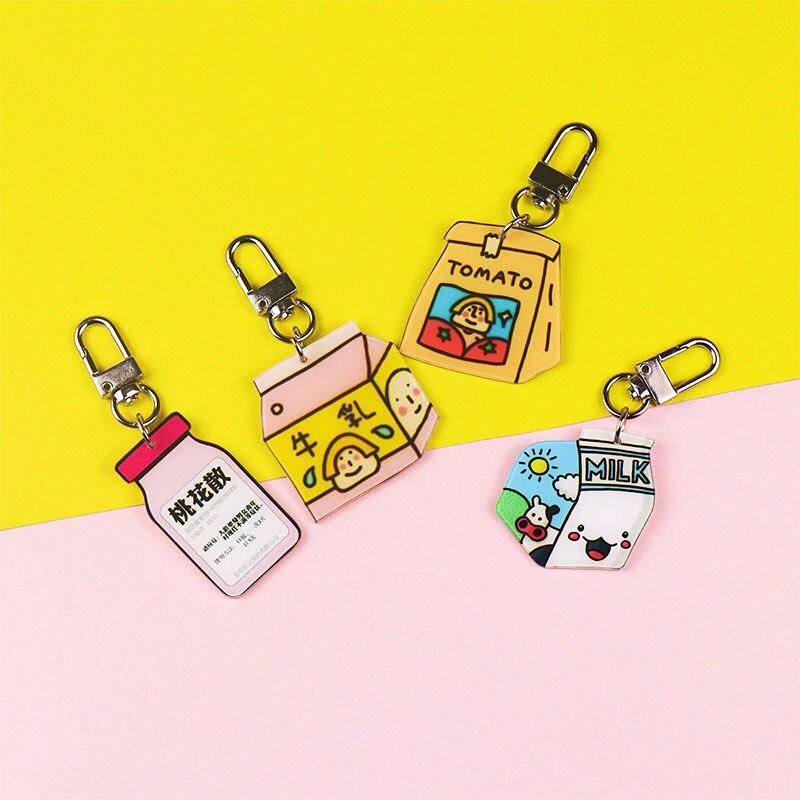 Милые корейские Брелоки для ключей с подвеской для женщин, металлические брелоки, практичный маленький подарок, комплект наушников Airpods, бр...