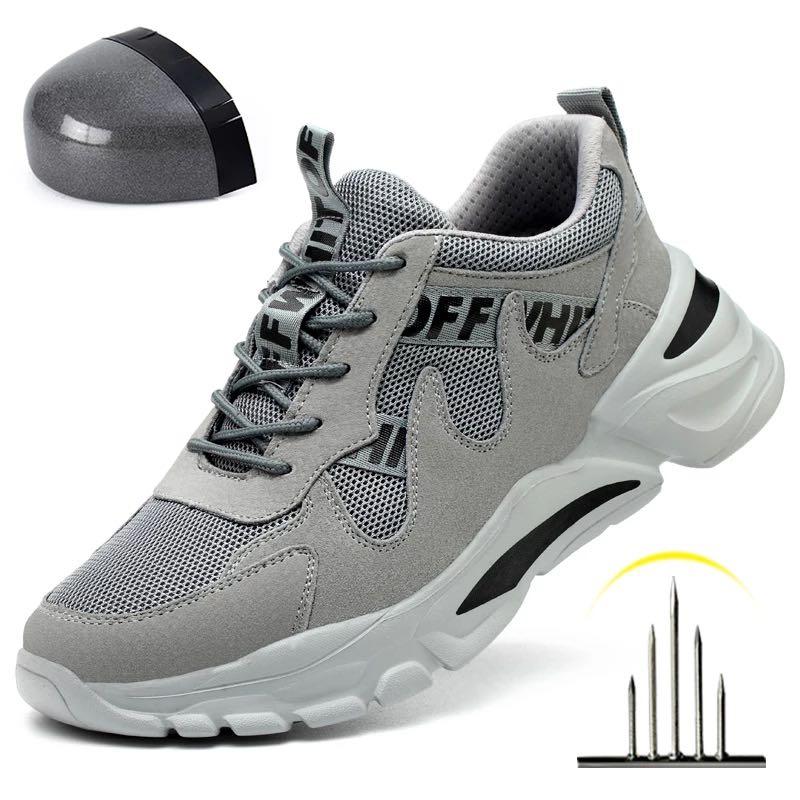 موضة 2021 الشتاء الرجال حذاء امن للعمل غطاء صلب لأصبع القدم ثقب واقية الأحذية في الهواء الطلق مصمم المشي النساء التكتيكية أحذية رياضية