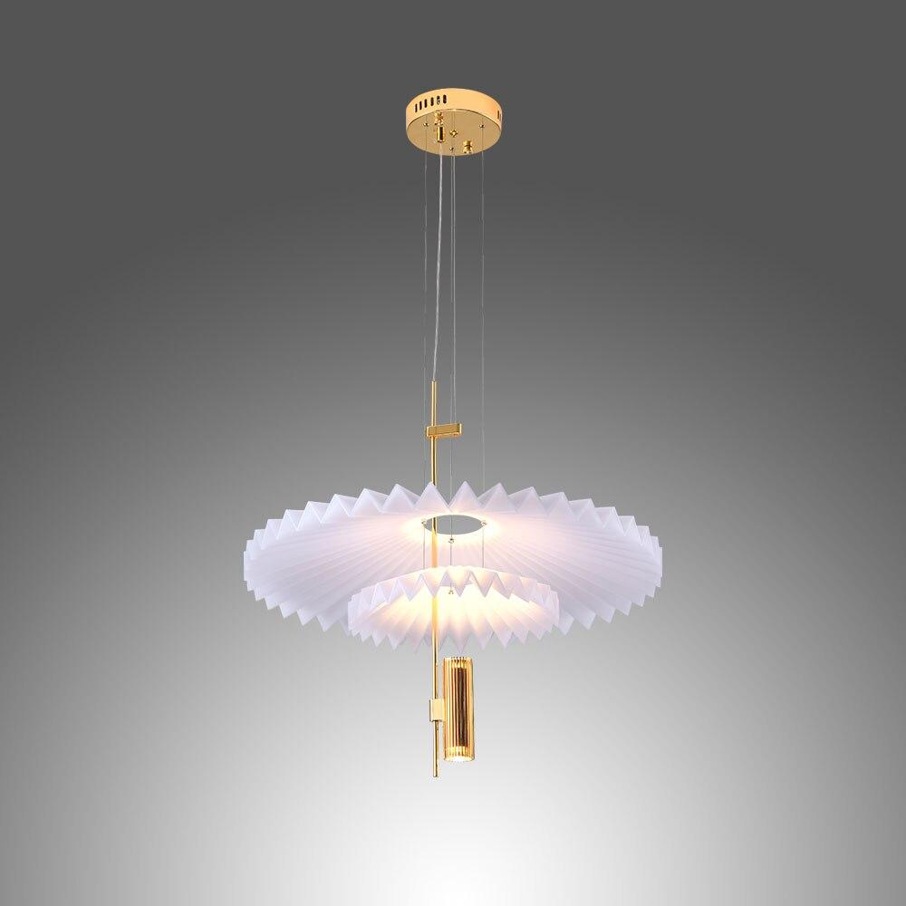 Светодиодный подвесной светильник umeilночника в скандинавском стиле, креативная лампа в виде НЛО для столовой, ресторана, магазина, бара, дом...