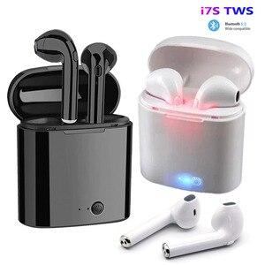 I7s TWS Bluetooth наушники стерео наушники беспроводные Bluetooth наушники вкладыши гарнитуры для всех смартфонов спортивные наушники