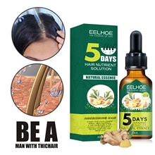 30ml Hair Growth Essence Oil Ginger Hair Care Essential Oil Hair Growth Liquid Anti Hair Loss Essenc