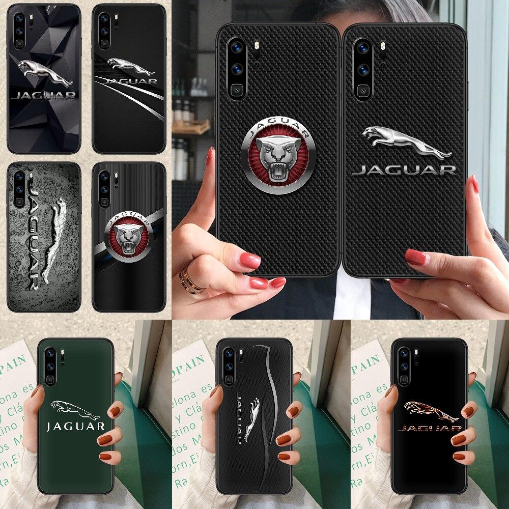 jaguars car logo Phone case For Huawei P Mate Smart 10 20 30 40 Lite Z 2019 Pro black hoesjes luxury