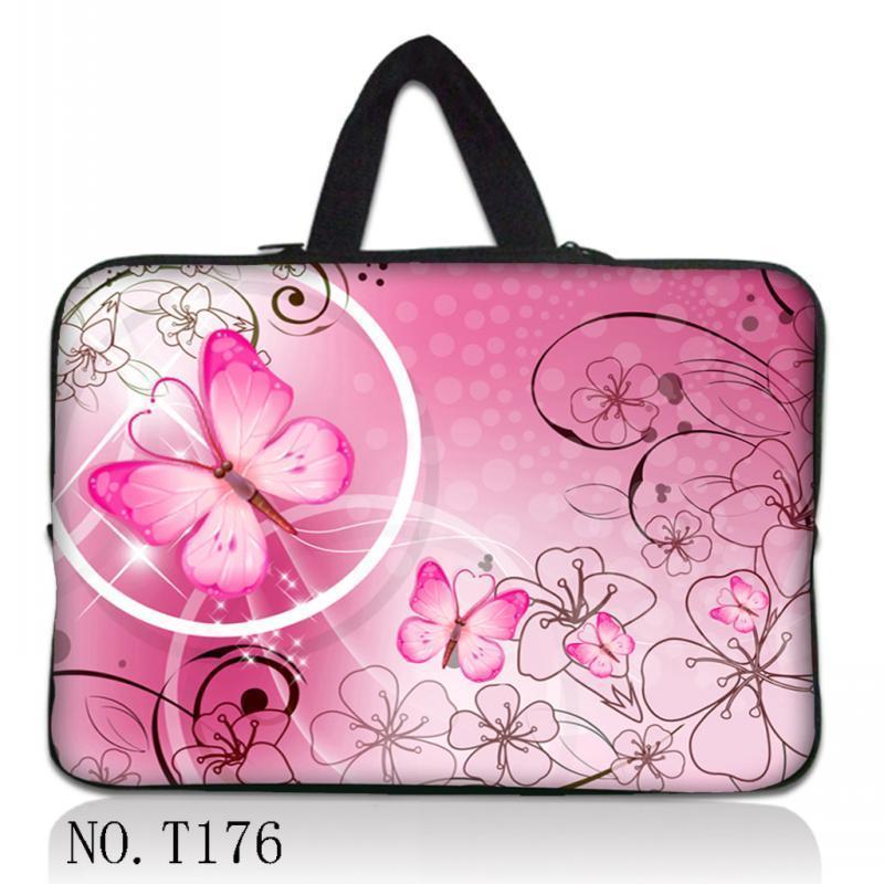"Rosa 13 15 15,4 ""15,6"" 16 ""portátil manga bolsa funda bolsa de transporte para HP DELL toshiba ASUS Sony Acer Lenovo IBM"