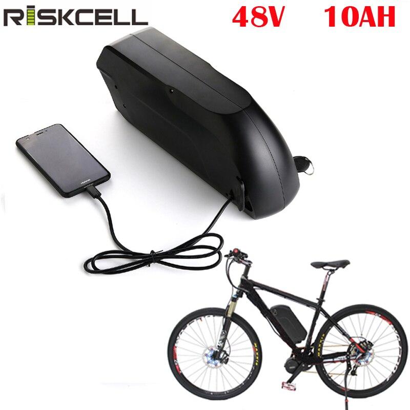 Li-Ion Ebike batería Tigershark 48V 10Ah 750W batería de bicicleta eléctrica para...