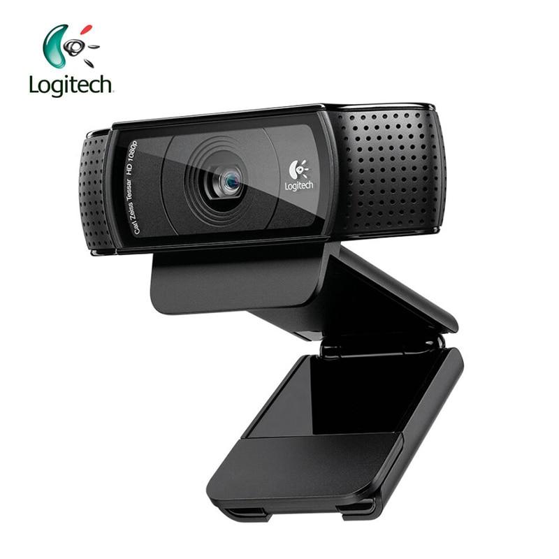لوجيتك-كاميرا ويب احترافية C920 HD 1280P ، تسجيل فيديو ، 15 مليون بكسل ، CMOS ، 30 إطارًا في الثانية ، لنظام التشغيل Windows 10 ، دعم الاختبار الرسمي 95