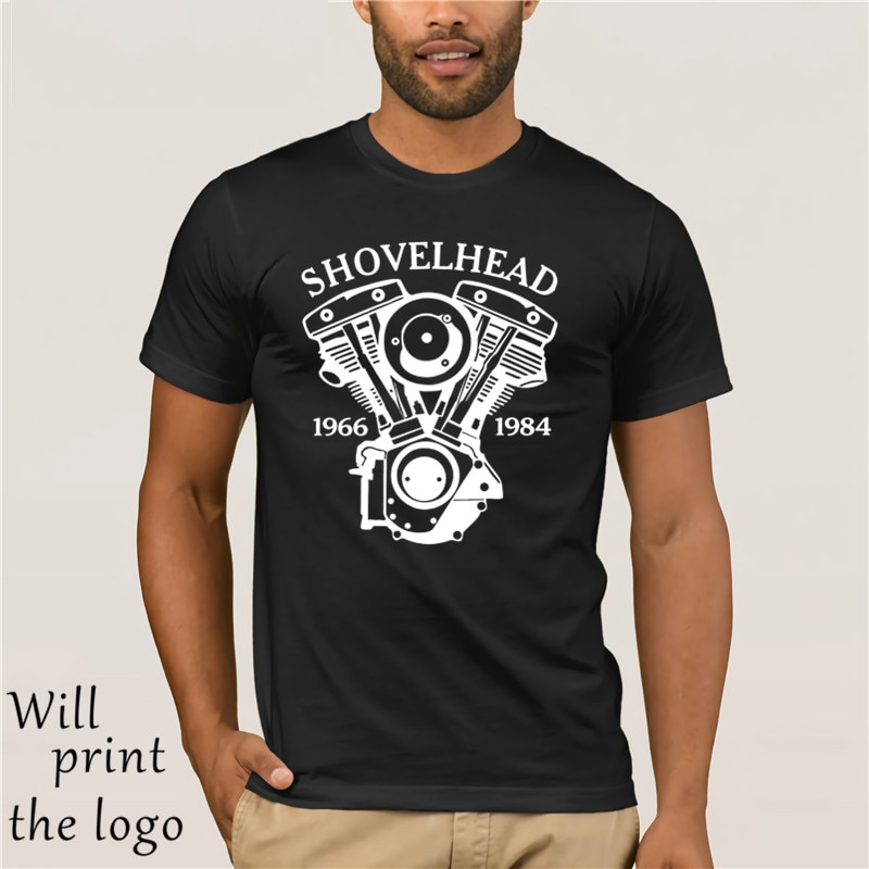American Classic Legend Motorcycle Biker-T-Shirt Shovelhead Motorrad Chopper Bobber 2018 MenS Fashion Color Fashion