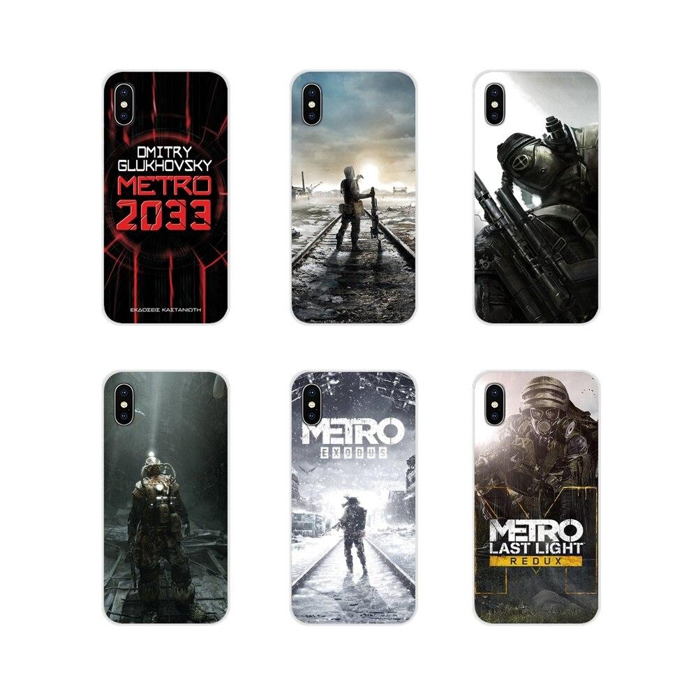 Para Sony Xperia XA1 XA2 XZ1 XZ2 Z1 Z2 Z3 compacto M2 M4 M5 C6 L2 ULTRA Premium Acessórios Phone Cases Covers Jogo Metro 2033