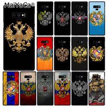 MaiYaCa Larménie Albanie Russie drapeau Emblème Téléphone étui pour samsung Galaxy A50 S10 S9 Plus Note9 8 Note7 5 4 3