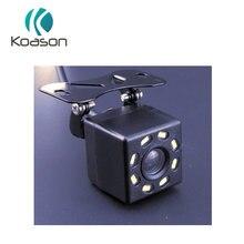 Koason Car Rear View Camera Reverse universal rearview backup Camera 8 LED Night Vision Waterproof HD Color Image