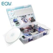 Starter Kit per Arduino Uno R3 - Uno R3 Breadboard e supporto Step Motor / Servo /1602 LCD / jumper Wire/ UNO R3