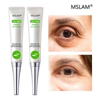 mslam tea tree eye cream 20g anti wrinkle anti hydrating dark circles skin care for puffiness and pouch eye cream 20g
