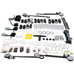 Electric Car Truck Universal Power Window Conversion Kit for any 4 doors vehicle