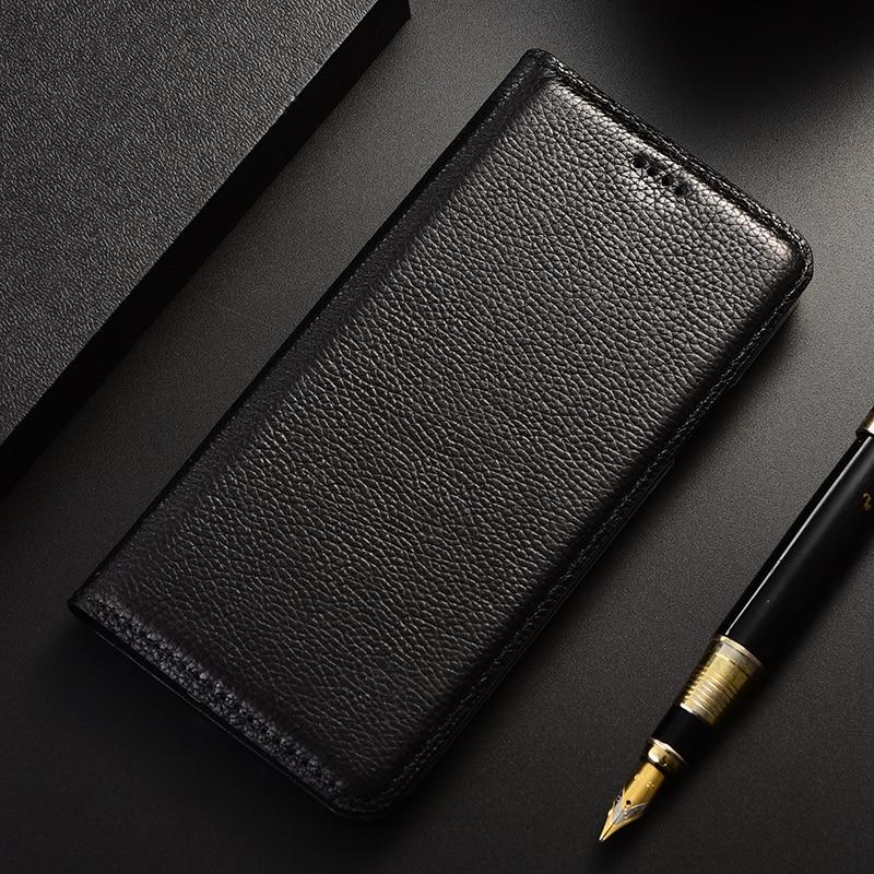 حقيقية غطاء هاتف قلاب من الجلد حالة ل موتو Z Z2 Z3 X C M G6 G7 E3 E4 E5 X3 X4 P30 قوة زائد اللعب ملاحظة لوكس واحد الطاقة حامل كوكه