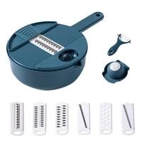 multi function vegetable chopper slicer grater veggie with drain basket guard eggfor separator kitchen tool