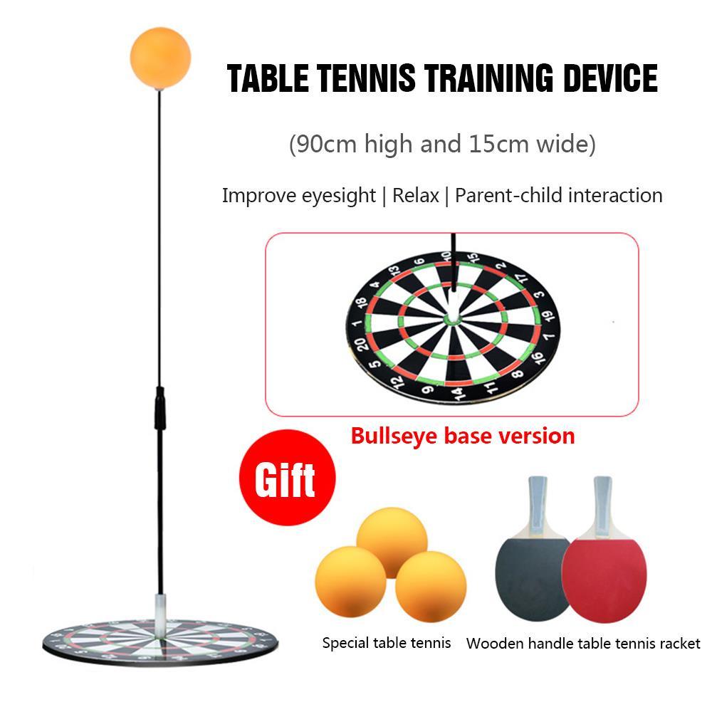 Ping pong Trainer Pingpong Ball Table Tennis Set Table Tennis Trainer Ball Machine Rackets Padel Robot Flexible Shaft Training