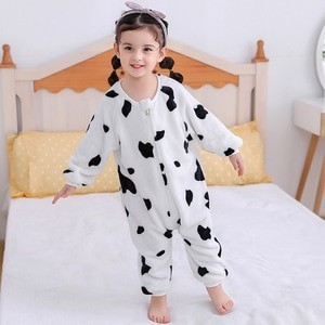 18M-5T Baby Romper Boys Girs Cute Cartoon Jumpsuit Infantil Girls Spring Autumn Clothes Toddler Pajamas Costumes Dropshipping