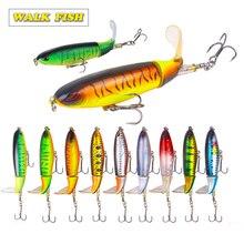 Walk Fish 1Pcs 13g/35g Whopper Popper Topwater Fishing Lure attrezzatura da pesca artificiale
