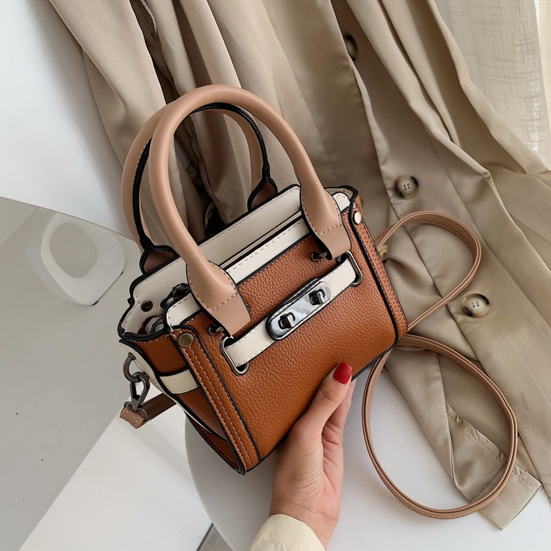 Brand PU Leather Shoulder Messenger Crossbody Bags For Women 2020 Luxury Handbags Women Bags Designer Lady Handbags and Purses