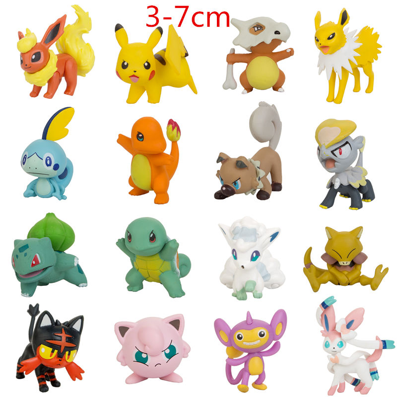 12pcs different styles my little unicorn pony horse action figure anime figure toys collection model doll christmas gift 3-7cm Pokemon Toys Elf Figures Collection Action Different Styles Cartoon Pikachu Doll Model Anime  Christmas Gift For Children