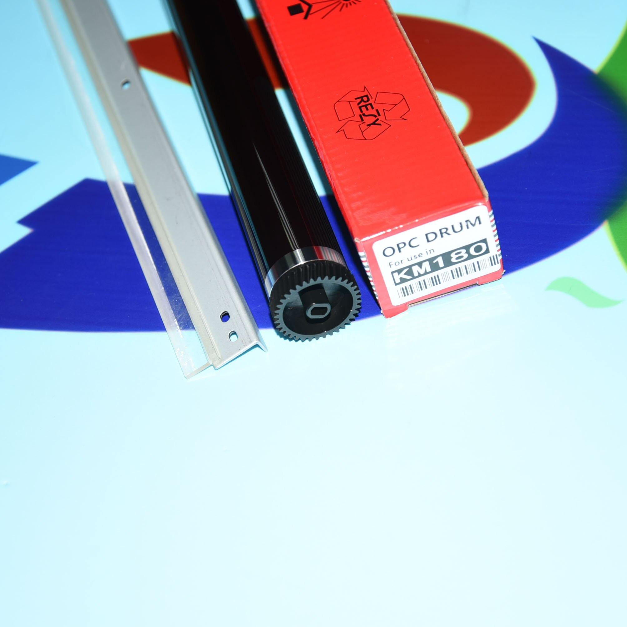 1 مجموعات OPC طبل + طبل تنظيف شفرة لكيوسيرا TASKalfa 180 181 220 221 KM1648 1648 الضوئي طبل اسطوانة
