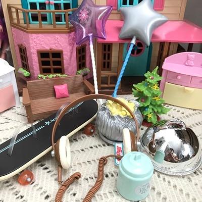original american girl Transparent jar doll for gift and  boy mini rapunzel little pet