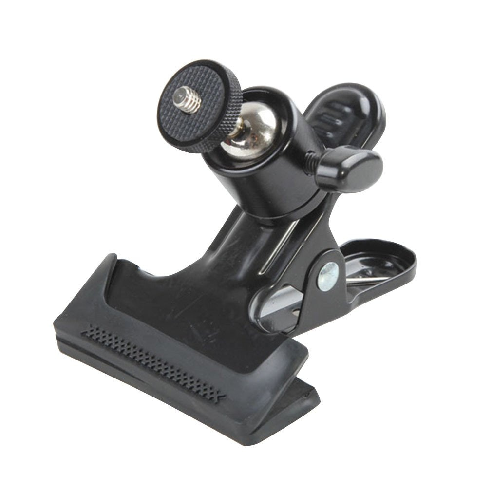 Multi-function Clip Clamp Holder Mount Tripod Heads with Standard Ball Head 1/4 Screw photography accessories
