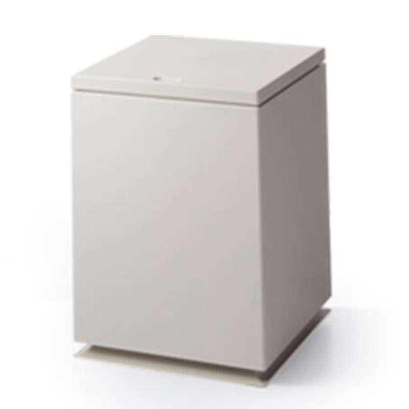 Japanese Trash Can Push Double-Layer Plastic Living Area Gap Bucket Bathroom Za Wu Tong Storage Bucket Khaki