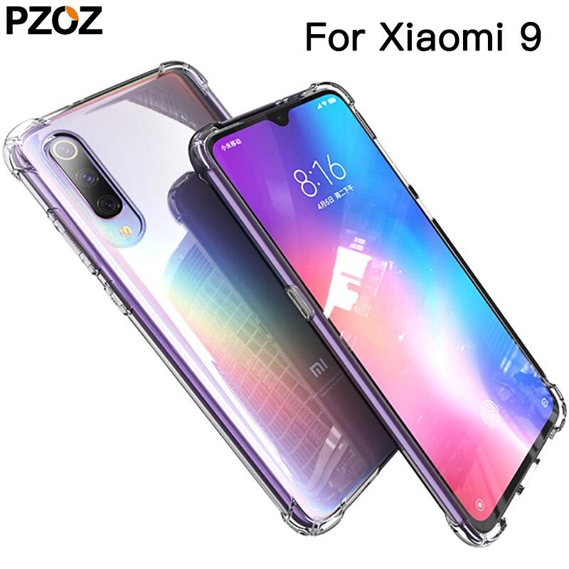 PZOZ для xiaomi mi 9 se mi 8 lite mi A3 note 10 pro чехол силиконовый роскошный чехол из мягкого ТПУ xiaomi mi 9t pro mi cc9 прозрачный противоударный чехол