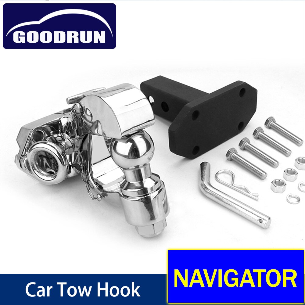 For Lincoln NAVIGATOR Car Exterior Accessories Safety Latch Trailer Tow Winch Hook