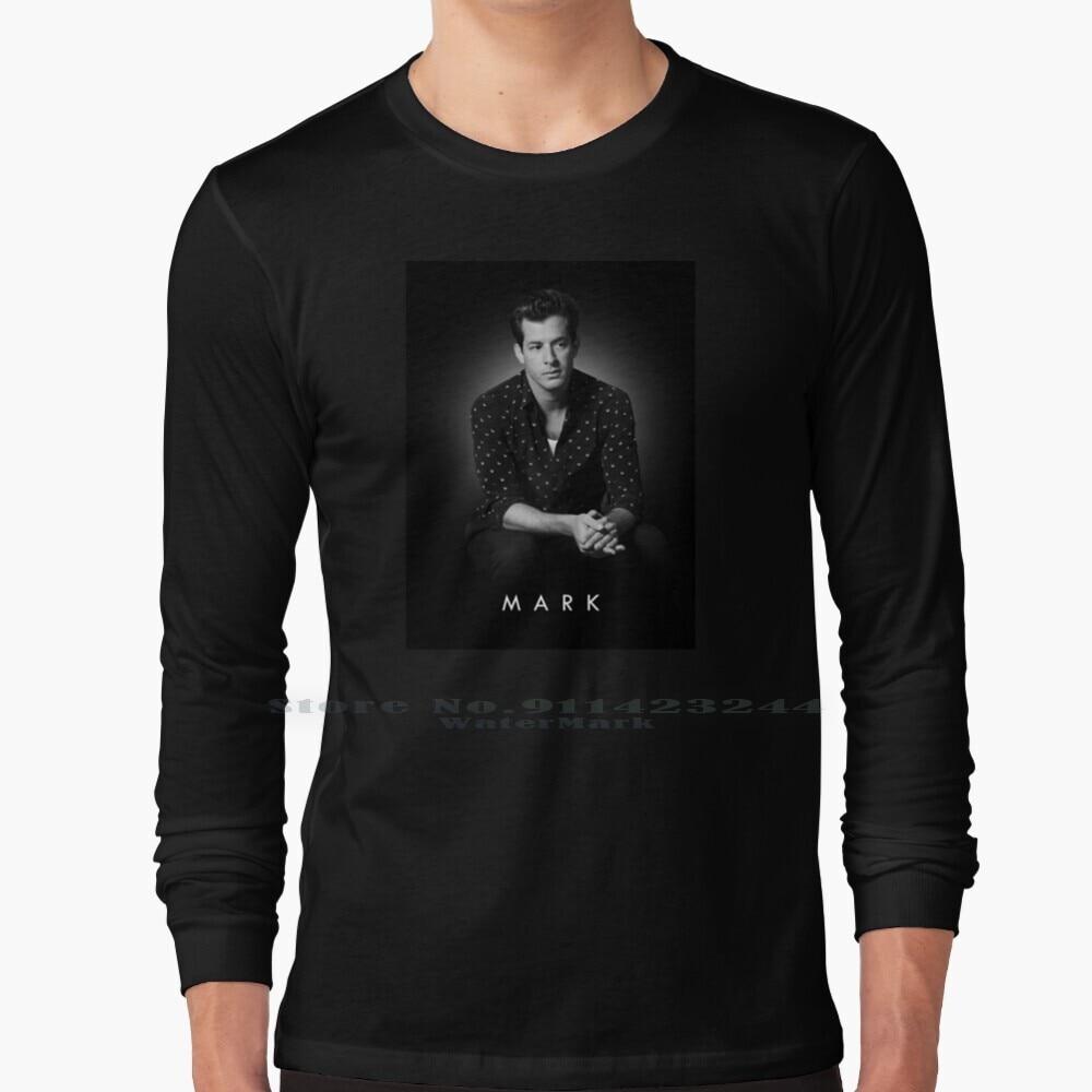 Mark Ronson Long Sleeve T Shirt Tee King Pop Music Singer Roll Rocker Bowie Freddie Bob Dylan Springsteen Mark Ronson