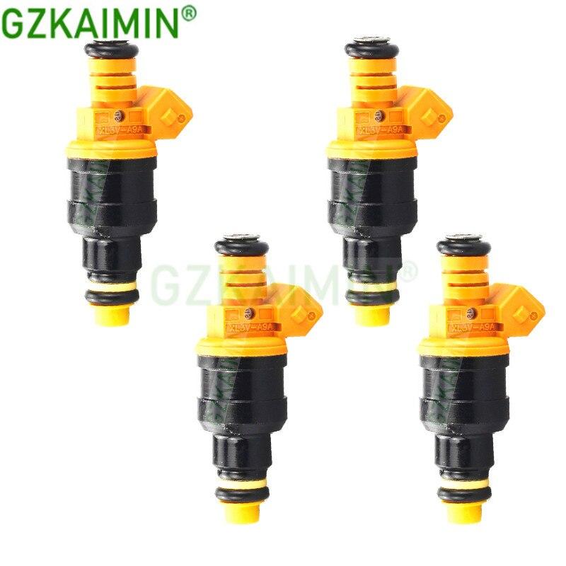 Set 4 Uds boquilla de inyector de combustible de alta calidad para V-W santa2.0 Quantum 2,0 para Opel Omega 0280150962