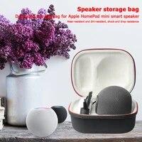 Haut-parleur antichoc boite de transport accessoires musique exterieure ecoute pour Apple HomePod Mini etui de protection de stockage