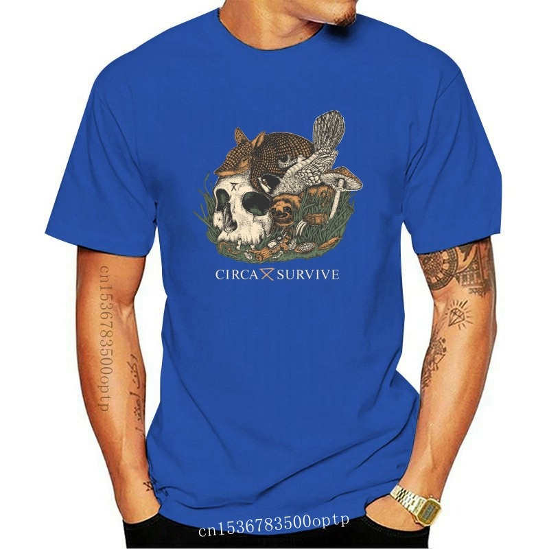 New Circa Survive T-shirt Indie rock band S M L XL 2XL 3XL Anthony Green tee Saosin