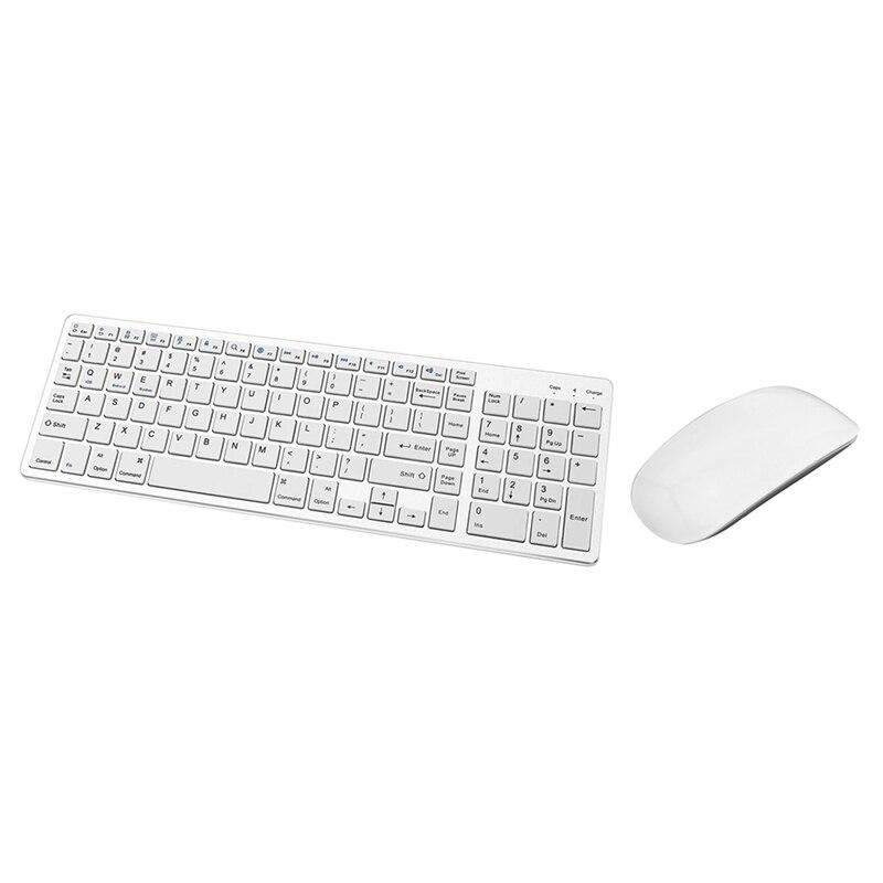 مريح سليم قوس بلوتوث الصحافة ماوس لاسلكي ماجيك ماوس مع لوحة المفاتيح بلوتوث قابلة للشحن