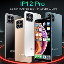 I12 Pro Rear Triple Camera 24MP+48MP Selfie Smartphone Snapdragon 865 8GB 128GB 5.1 Inch 4800mAh And