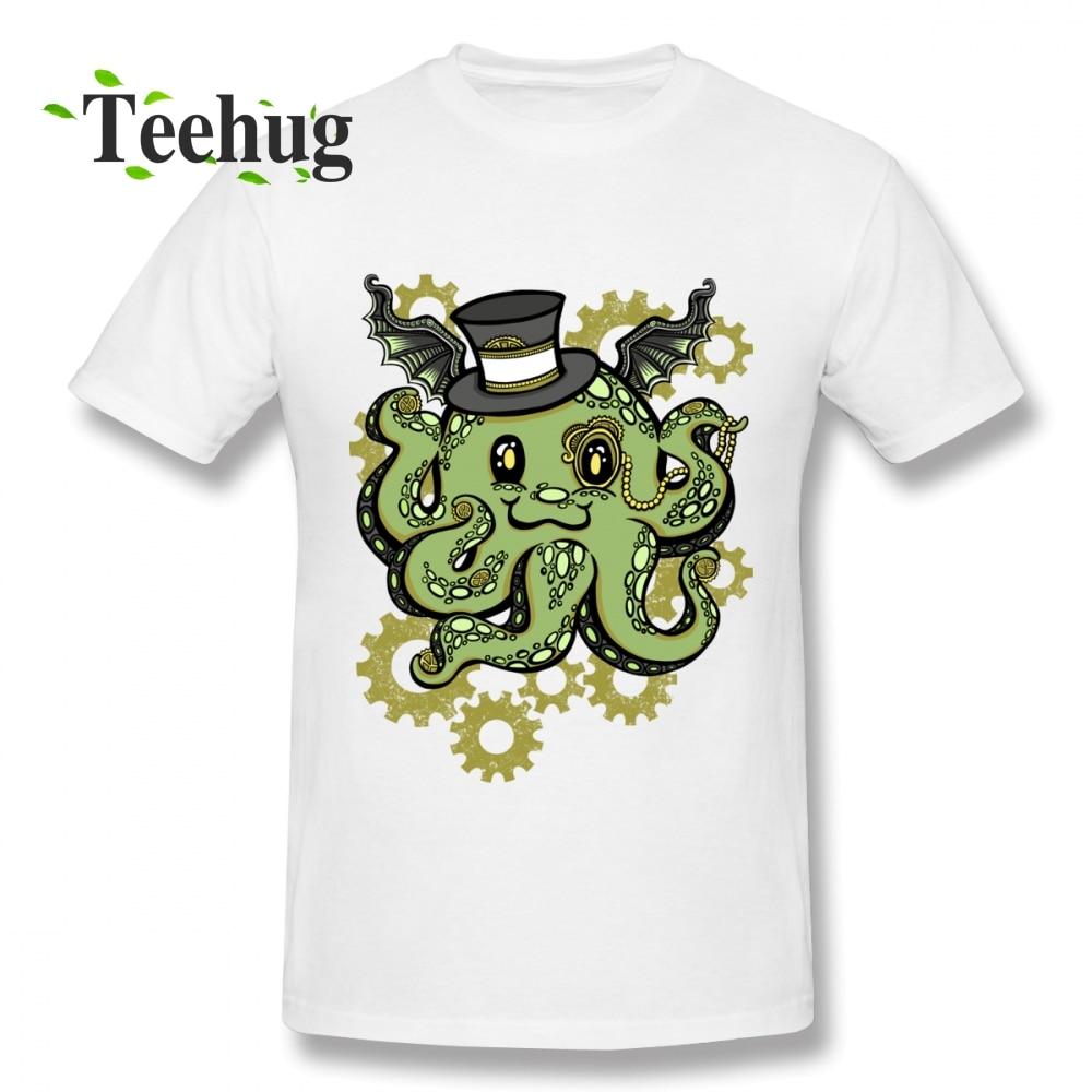 Cthulhu T Shirt Plus Szie T-Shirt Mans Custom Male New Arrival Unique Quality Cotton Tee For Man