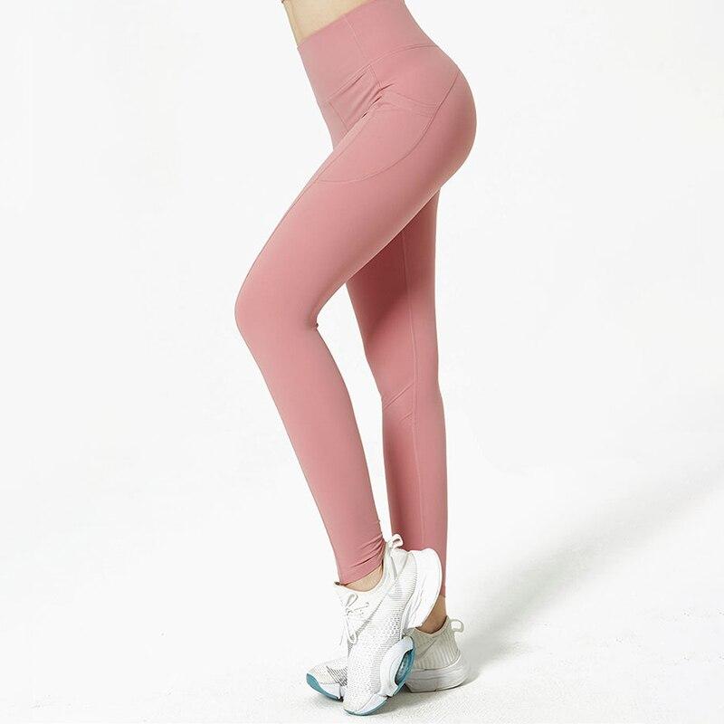 High Waist Yoga Pants Women Leggings Sport Women Fitness leggings Push Up Seamless Leggings Naked Feeling Woman Pants