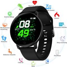 Reloj inteligente de Fitness para hombres y mujeres VS KW19 DT88 Monitor de frecuencia cardíaca presión arterial Smartwatch impermeable para Android IOS iphone 2020