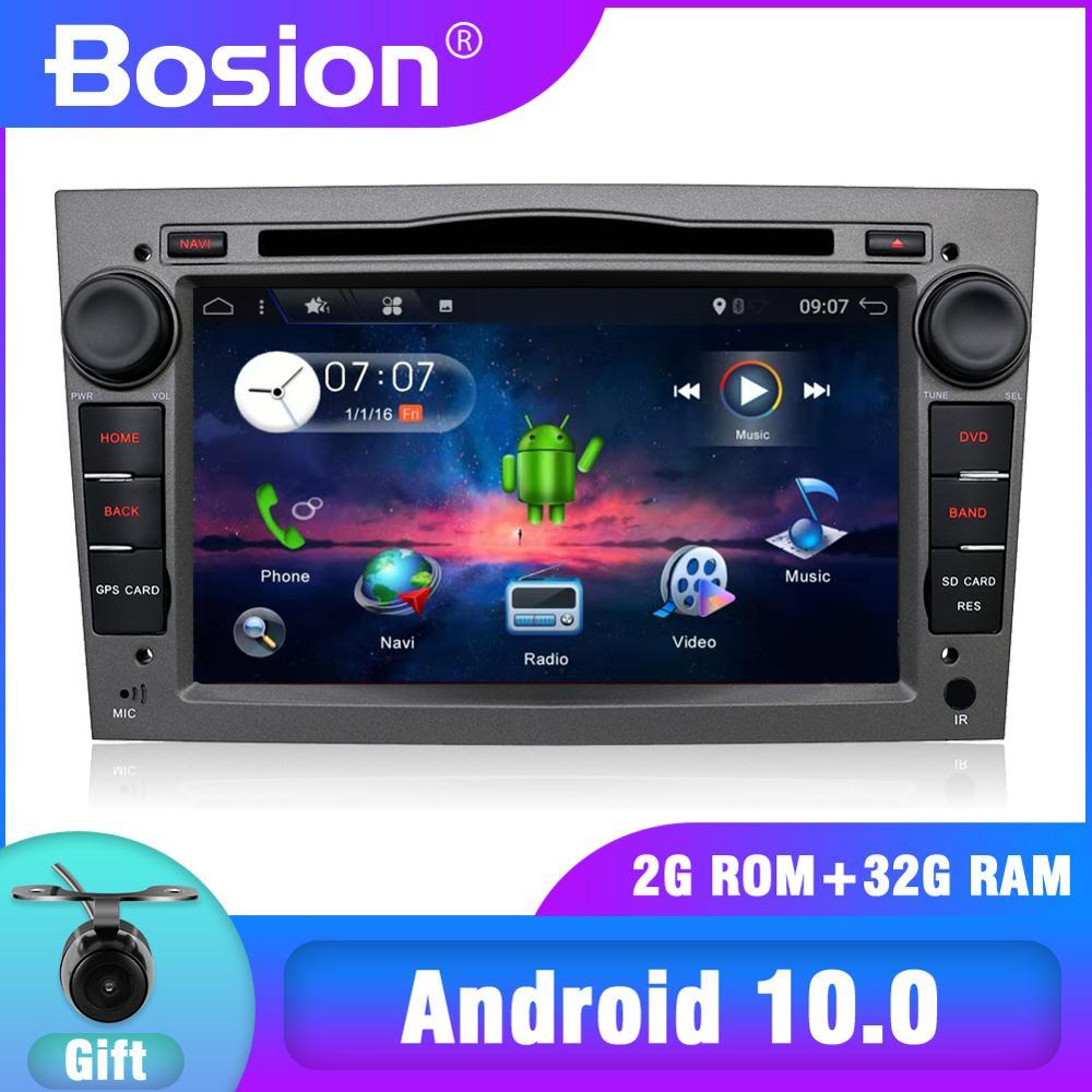 Bosion 4 ядра/PX6 Android 10 автомобильный магнитофон GPS dvd-плеер для Opel Astra H Vectra Corsa Zafira B C G BT WIFI 32G/64G DSP