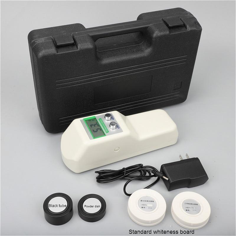 المحمولة البياض متر WSB-1 لقياس البياض للطباعة النسيج الطلاء الطلاء ورقة السيراميك الدقيق الملح المنظفات